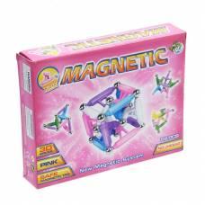 Магнитный 3D конструктор Magnetic - Магический куб, 68 деталей  Dragon Toyz