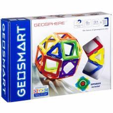 Магнитный 3D-конструктор Geosmart - Геосфера, 31 деталь Bondibon