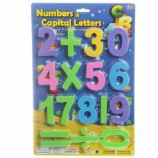 Набор пластиковых цифр Numbers & Capital Letters, 17 шт.