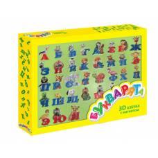 Магнитная 3D-азбука