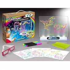 Доска для рисования Magic с 3D эффектом (свет) Young Mindz Toys