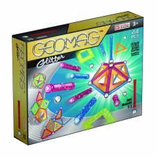 Магнитный конструктор Glitter, 44 детали Geomag