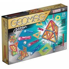 Магнитный конструктор Glitter, 68 деталей Geomag
