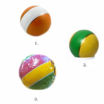 Мяч полосатый, малый, 7.5 см Чебоксарский Завод