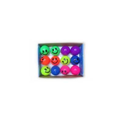 Мячик-смайлик (свет), 6 см 1TOY