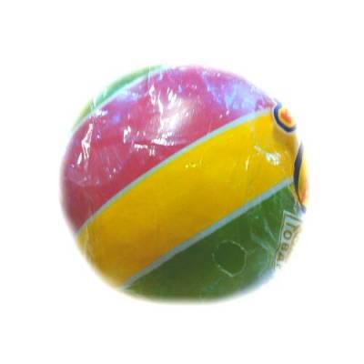 Мяч полосатый, малый, желто-розовый, 7.5 см Чебоксарский Завод