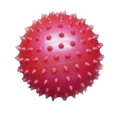 Массажный мяч, красный, 8 см 1TOY