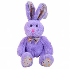 Кролик, 18см, 2 цвета(розовый, фиолетовый) ABtoys