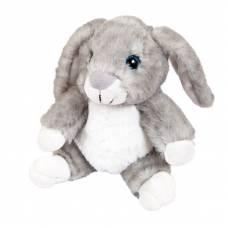 Кролик серый, 17 см игрушка мягкая ABtoys