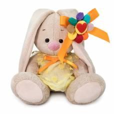 Мягкая игрушка  SidX-372 Зайка Ми в платье с семицветиком 15 см Budi Basa