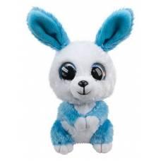 Кролик Ice, голубой, 15 см. Lumo Stars