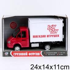 Инерционный грузовой фургон