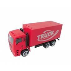 Инерционный грузовик, красный Shantou