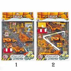 Игровой набор Truck King Cool, 20 предметов, 1:87