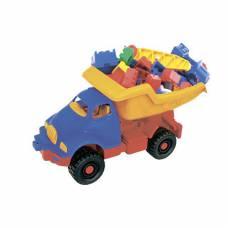Машинка с набором конструктора