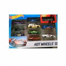 Набор металлических машинок Hot Wheels №8, 1:64, 10 шт. Mattel