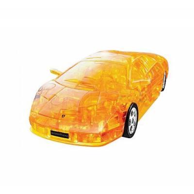 Кристальный 3D пазл Lamborghini Murcielago (желтый, собранный), 1:32, 64 дет. Happy Well