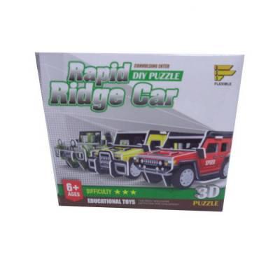 3D-пазл Rapid Ridge Car А