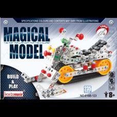 Металлический конструктор Magical Model - Вездеход, 235 дет. Iron Commander