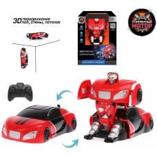 Антигравитационная машина-робот р/у, аккум., 3D передвижение, красный Пламенный мотор