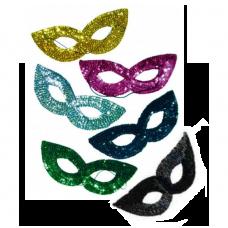 Карнавальная маска с пайетками Snowmen