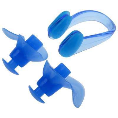 Беруши для плавания+зажим для носа, силикон ONLITOP