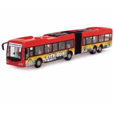 Фрикционный городской автобус City Express, красный, 1:43 Dickie