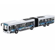 Фрикционная модель городского автобуса City Bus, белая, 1:43 Dickie