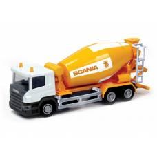 Игрушечная бетономешалка Scania, 1:64 RMZ City