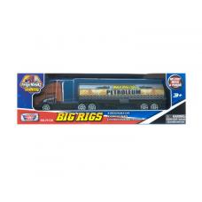 Коллекционная модель грузовика с полуприцепом, коричневый, 19 см MotorMax