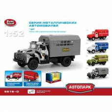 Инерционный металлический грузовик