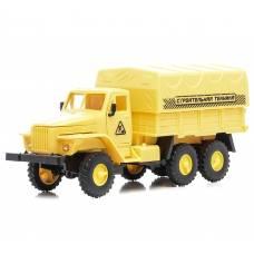 Инерционный грузовик с тентованным кузовом (свет, звук)