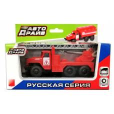Инерционный грузовик с пожарным краном Kaiyu