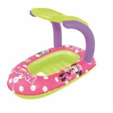 Надувная лодочка Minnie с тентом, 112 х 71 см Bestway