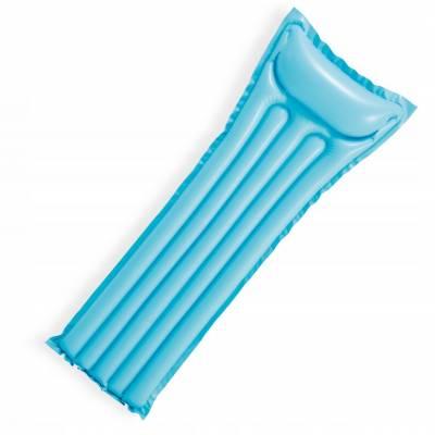 Надувной глянцевый матрац Economats, голубой, 183 х 69 см Intex
