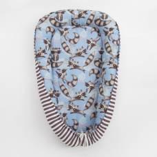 Матрасик-топпер «Еноты», размер 72×100 см, бязь/синтепух Крошка Я