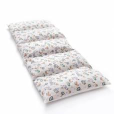 Матрасик с подушками «Роботы» двусторонний 70×190 см, бязь/спанбонд Крошка Я