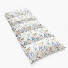 Матрасик с подушками «Динозавры» двусторонний 70×190 см, бязь/спанбонд Крошка Я