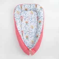 Матрасик-топпер для новорожденных «Милые принцессы», размер 72×100 см, бязь/синтепух Крошка Я