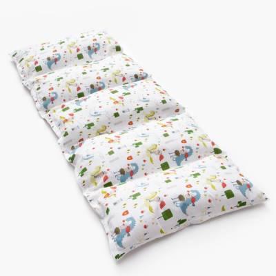 Матрасик с подушками «Рыцари» двусторонний 70×190 см, бязь/спанбонд Крошка Я