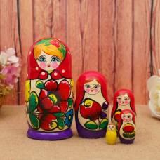 Матрёшка Майдановская 5 мест средняя   MM0503-01 Уланик