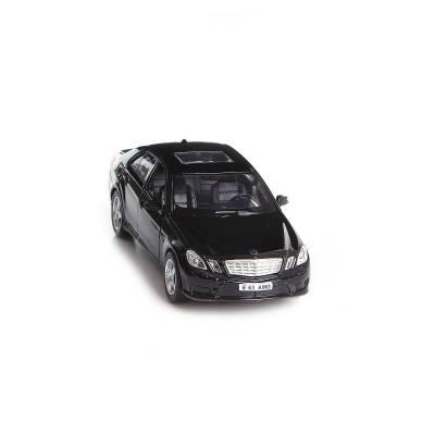 Инерционная коллекционная машинка Mercedes Benz E63 AMG, черная, 1:32 RMZ City