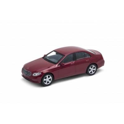 Коллекционная машина Mercedes-Benz E-Class, бордовая, 1:38 Welly