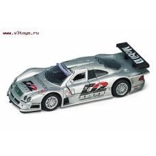 Инерционная машинка Mercedes-Benz CLK-GTR, 1:34-39 Welly