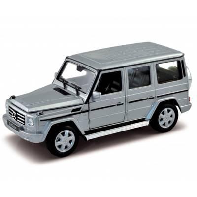 Коллекционная машинка Mercedes-Benz G-Class, серая, 1:32 Welly