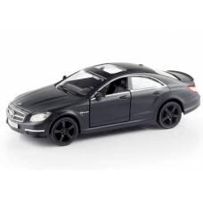 Коллекционная модель Mercedes-Benz CLS 63 AMG, матово-черная,1:32  RMZ City