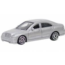 Коллекционная машинка Mercedes-Benz C-Class, серебристая MotorMax