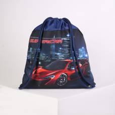 Мешок для обуви Оникс МО-27, 41*1*49, мал Super car красный, синий Оникс