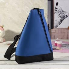 Рюкзак для обуви, отдел на молнии, цвет синий ЗФТС