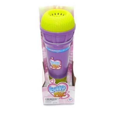 Игрушечный микрофон Echo Mic (свет, звук), фиолетовый Shantou